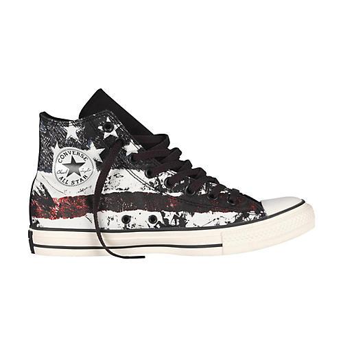 Converse Chuck Taylor All Star High-Top White/Chili Pepper/Vintage Indigo Flag