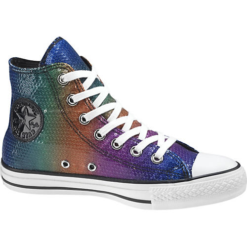 Converse Chuck Taylor All Star Sequins Hi-Top Sneakers (Rainbow)-thumbnail