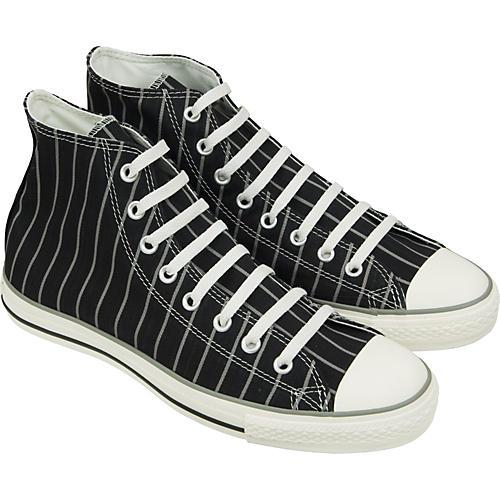 Converse Chuck Taylor All Star Strip Hi-Top Sneakers (Black/Milk)