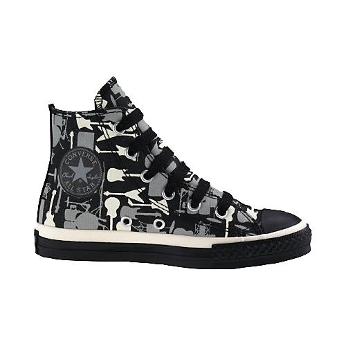 Converse Chuck Taylor All Star Youth Guitar Print Hi-Tops-thumbnail