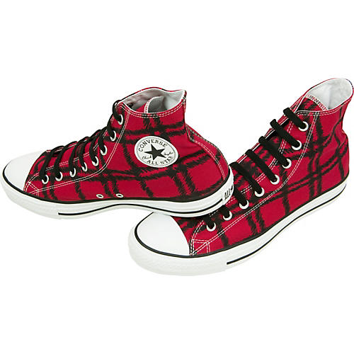 Converse Chuck Taylor Scribble Plaid Hi Top