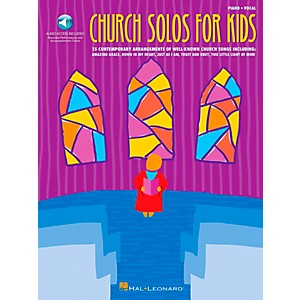 Hal Leonard Church Solos for Kids Book/CD by Hal Leonard