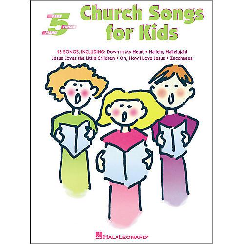 Hal Leonard Church Songs for Kids for Five Finger Piano-thumbnail