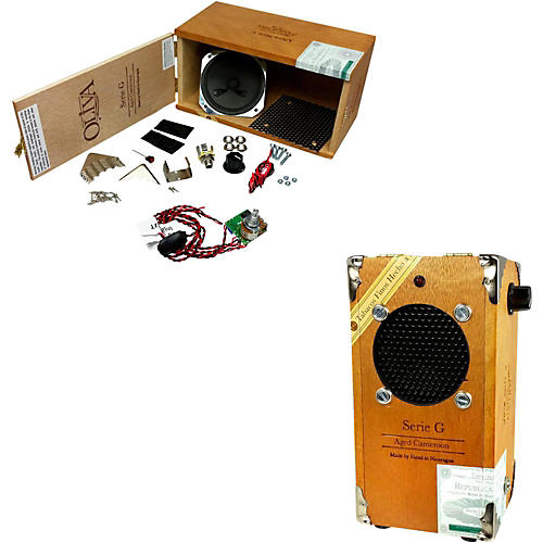 C.B. Gitty Cigar Box Amplifier Kit-thumbnail