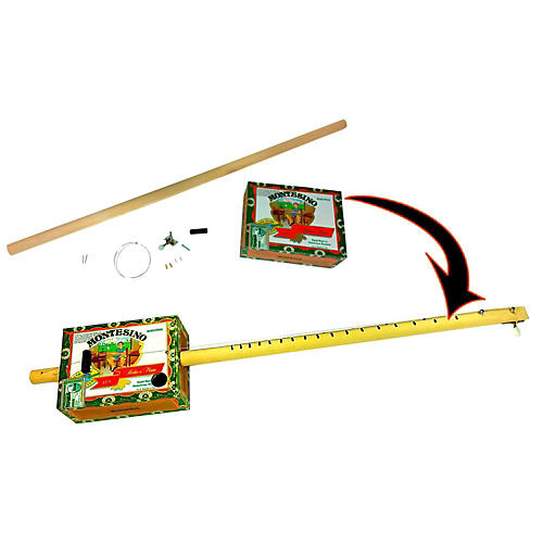 C.B. Gitty Cigar Box Diddley Bow One-String Guitar Kit-thumbnail