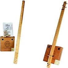 C.B. Gitty Cigar Box Pure & Simple 3-String Slide Guitar Kit Level 1 Natural