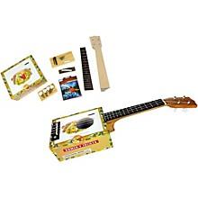 C.B. Gitty Cigar Box Ukulele Kit Level 1 Natural