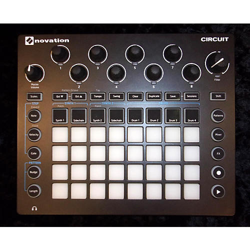 Novation Circirt Production Controller