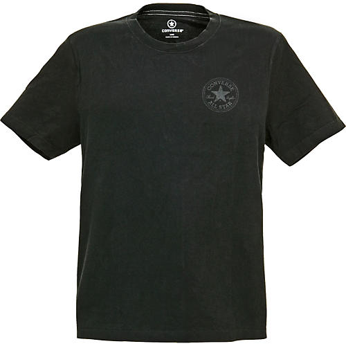Converse Circle Star Logo with Footprint T-Shirt-thumbnail