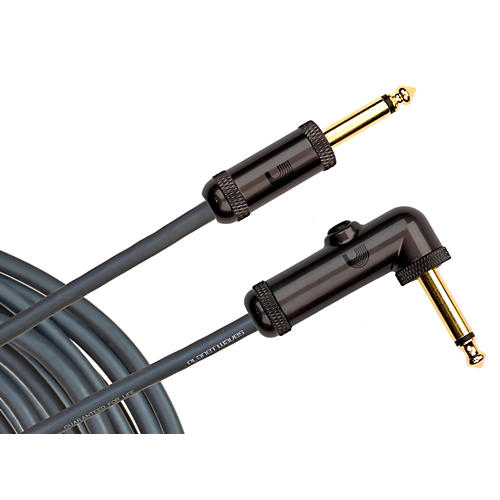 D'Addario Planet Waves Circuit Breaker Cable Right Angle-Straight  10 ft.