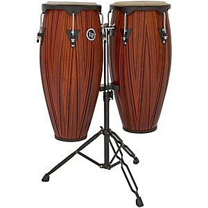 LP City Conga Set with Double Stand by LP
