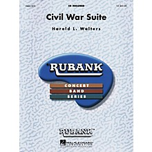 Rubank Publications Civil War Suite Concert Band Level 4-5 Arranged by Harold Walters