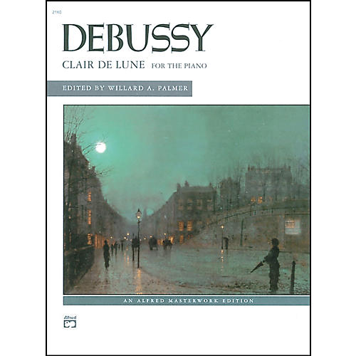 Alfred Clair de lune (from Suite Bergamasque) Piano Solo Book-thumbnail