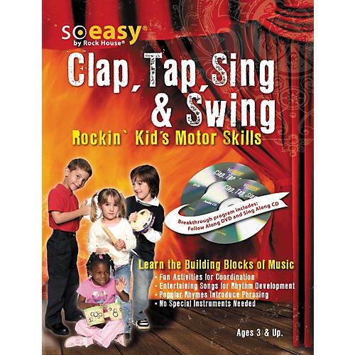 Hal Leonard Clap, Tap, Sing & Swing: Rockin' Kid's Motor Skills DVD/CD-thumbnail