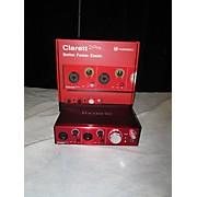 Focusrite Clarett2 Audio Interface