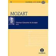 Eulenburg Clarinet Concerto in A Major KV 622 Eulenberg Audio plus Score Series Composed by Wolfgang Amadeus Mozart