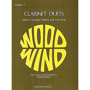 Chester Music Clarinet Duets - Volume 1 Music Sales America Series by Chester Music
