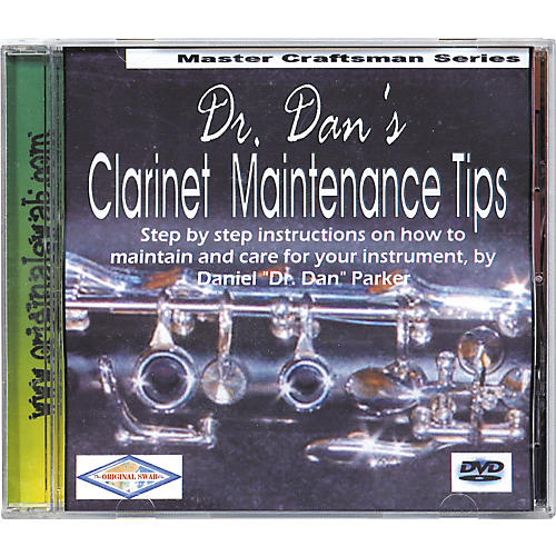 Dr. Dan's Clarinet Maintenance DVD-thumbnail