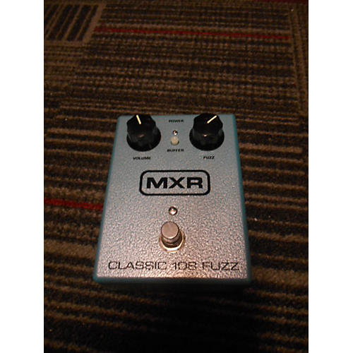 MXR Classic 108 Fuzz Effect Pedal-thumbnail