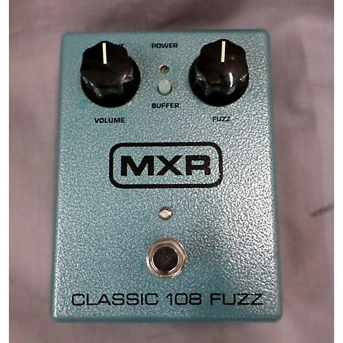 MXR Classic 108 Fuzz Effect Pedal