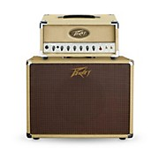 Peavey Classic 20 Micro Tube Guitar Amp Head with 1x12 Guitar Speaker Cabinet