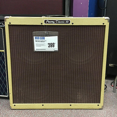 Peavey Classic 50 4x10 Tube Guitar Combo Amp