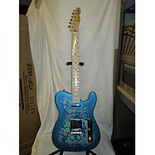 Fender Classic '69 Japanese Blue Flower Telecaster Electric Guitar