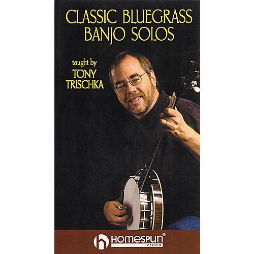 Homespun Classic Bluegrass Banjo Solos (VHS)-thumbnail