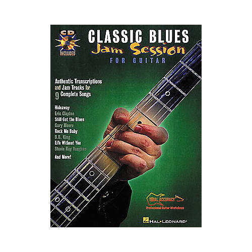 Hal Leonard Classic Blues Jam Session for Guitar Book with CD-thumbnail