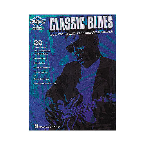Hal Leonard Classic Blues for Voice and Fingerstyle Guitar Book-thumbnail