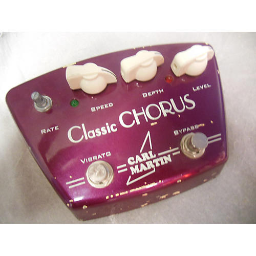Carl Martin Classic Chorus Version II Effect Pedal-thumbnail
