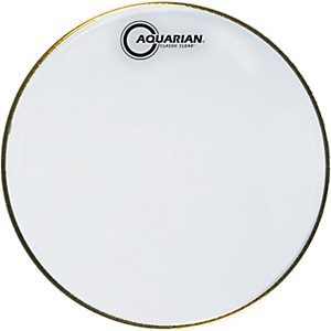 Aquarian Classic Clear Snare Bottom Drumhead by Aquarian