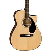 Fender Classic Design Series CC-60SCE Cutaway Concert Acoustic-Electric Guitar