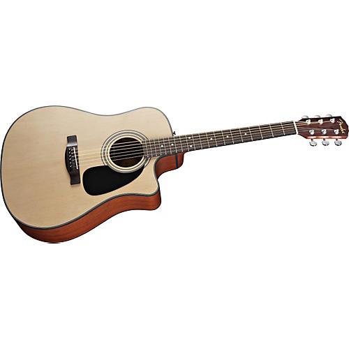 Fender Classic Design Series CD-100ce Dreadnought Cutaway Acoustic Electric Guitar-thumbnail