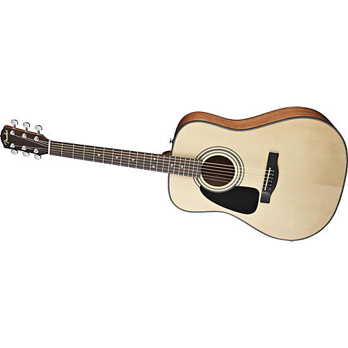 Fender Classic Design Series CD-100ce Left Handed Dreadnought Cutaway Acoustic Electric Guitar