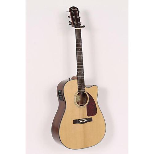Fender Classic Design Series CD-140SCE Cutaway Dreadnought Acoustic-Electric Guitar-thumbnail