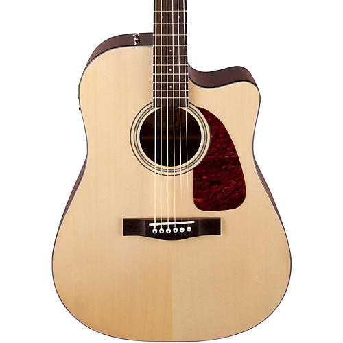 Fender Classic Design Series CD-140SCE Cutaway Dreadnought Acoustic-Electric Guitar-thumbnail