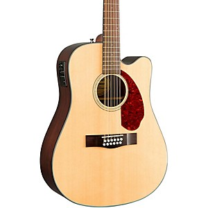 Fender Classic Design Series CD-140SCE Mahogany Cutaway Dreadnought 12-Stri... by Fender
