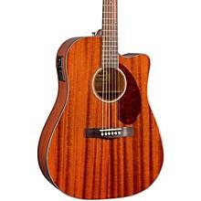 Fender Classic Design Series CD-140SCE Mahogany Cutaway Dreadnought Acoustic-Electric Guitar