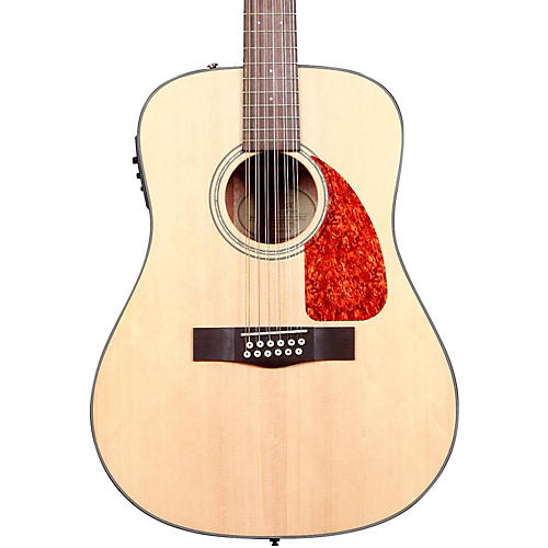 Fender Classic Design Series CD-160SCE Cutaway Dreadnought 12-String Acoustic-Electric Guitar-thumbnail