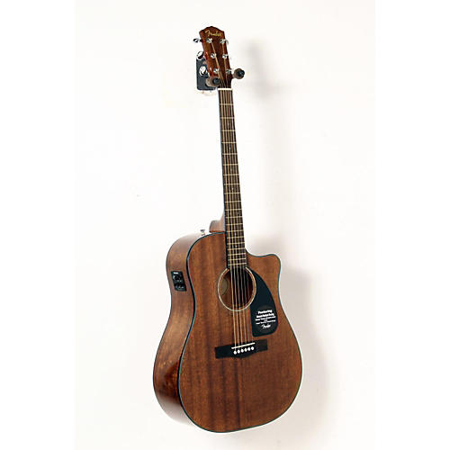 Fender Classic Design Series CD-60CE All-Mahogany Cutaway Dreadnought Acoustic-Electric Guitar