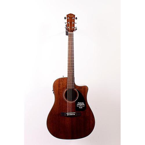 Fender Classic Design Series CD-60CE All-Mahogany Cutaway Dreadnought Acoustic-Electric Guitar