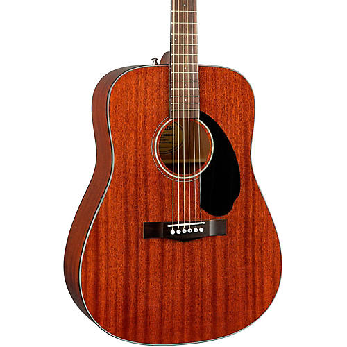 Fender Classic Design Series CD-60S All-Mahogany Dreadnought Acoustic Guitar