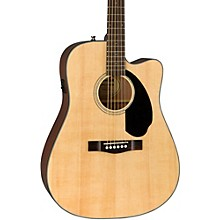 Classic Design Series CD-60SCE Cutaway Dreadnought Acoustic-Electric Guitar Natural