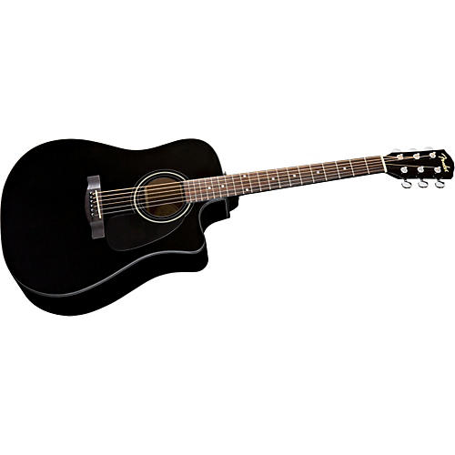 Fender Classic Design Series CD-60ce Dreadnought Cutaway Acoustic Electric Guitar-thumbnail