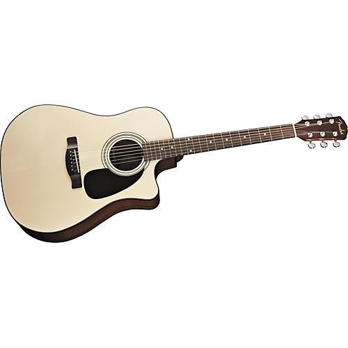 Fender Classic Design Series CD60CE Cutaway Dreadnought Acoustic-Electric Guitar-thumbnail