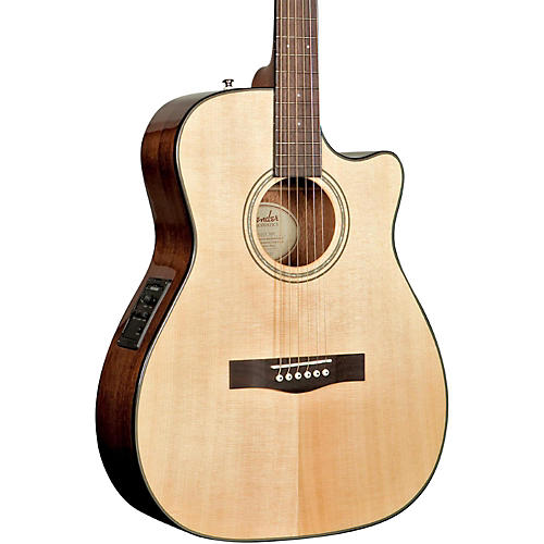 Fender Classic Design Series CF-140SCE Cutaway Folk Acoustic-Electric Guitar