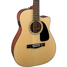 Fender Classic Design Series CF-60CE Cutaway Folk Acoustic-Electric Guitar