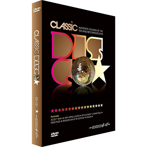pro audio zero g classic disco groove sample collection