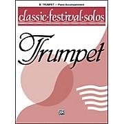 Alfred Classic Festival Solos (B-Flat Trumpet) Volume 1 Piano Acc.